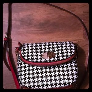 Handbags - Black and White Houndstooth purse
